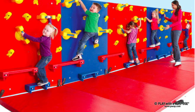 Little Climbers™ Adaptive Climbing Walls 适应性攀岩墙